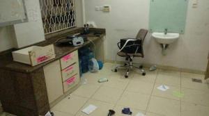 اعتداء على كادر قسم الطوارئ في مستشفى جرش  ..  صور