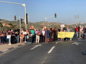 تواصل الاحتجاجات بمناطق الـ 48