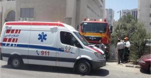 اصابة 26 شخصاً بتصادم حافلتين في الزرقاء