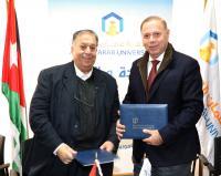 """شراكة بين جامعة عمان العربية و""""حوارات عمان"""""""