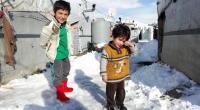 وفاة 15 طفلا بسبب البرد في مخيمات سوريا