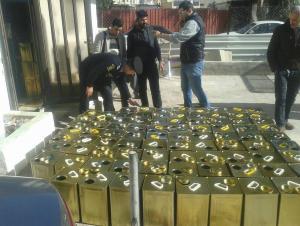 ضبط 16 طن زيت زيتون مغشوش في اربد