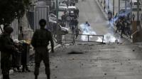 إصابة فلسطينيين خلال مواجهات مع الاحتلال بمخيم جنين