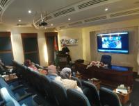 وفد من عمان العربية يزور المركز الأردني للتصميم والتطوير (صور)