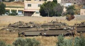 دبابات الاحتلال تخرق السياج التقني الحدودي جنوب لبنان