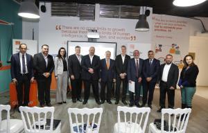 منصةOrange الأردن تستقبل المدير العام للرابطة العالمية للاتصالات المتنقلة