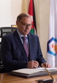 """رئيس """"عمان العربية"""" يرعى معرض الأردن الدولي"""