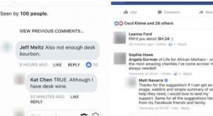 فيسبوك تختبر طريقة عرض التعليقات تشبه فقاعات 'الماسينجر'