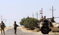 مصر تعلن حصيلة العملية العسكرية في سيناء