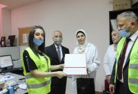 مبادرة جدارا تكرم كوادر مستشفى الملك المؤسس (صور)