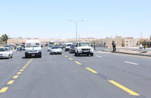 انتهاء العمل بمشروع الطريق الصحراوي بآب المقبل