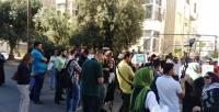 عمان: وقفة احتجاجية لرفع العقوبات عن غزة (صور)