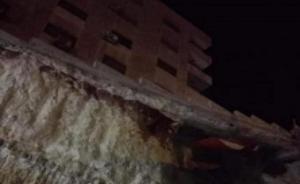 الرصيفة ..  إخلاء مبنى سكني تحسباً من انهياره