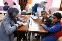 جامعة عمان الاهلية تقيم يوماً طبياً مجانياً في مخيم البقعة (صور)