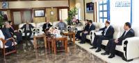 وفد من مؤسسة ولي العهد يزور جامعة الزرقاء