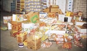 ضبط مواد غذائية فاسدة بالكرك