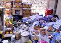 إتلاف 5 أطنان مواد غذائية فاسدة في إربد