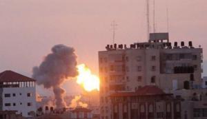الاحتلال يغير على غزة