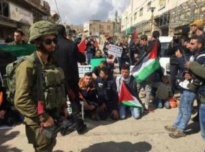 مسيرة في الخليل بذكرى مجزرة الحرم الإبراهيمي