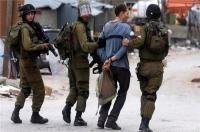 الاحتلال يعتقل 11 فلسطينيا بالضفة