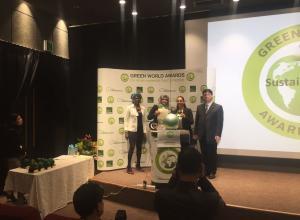 أمانة عمان تفوز بالجائزة الذهبية للمنظمة الخضراء العالمية(صور)