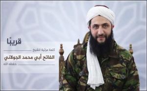 ظهور مرئي لأول مرة لزعيم جبهة النصرة أبو محمد الجولاني