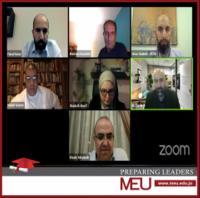 جامعة الشرق الأوسط تشارك في الجلسة الحوارية الأولى لهاكاثون المئوية