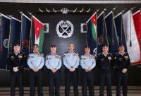 الحمود يقلد عددا من الضباط رتبة لواء