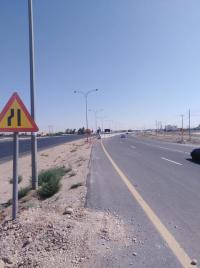 تحويلة جديدة على الطريق الصحراوي (صور)