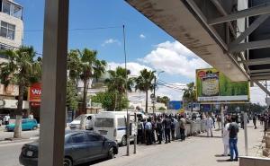 """محافظ اربد : """"وقفة حلب"""" مخالفة للقانون"""