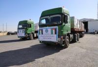 وصول أولى قوافل المساعدات الاردنية للأشقاء الفلسطينيين  ..  صور