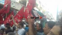من الزرقاء لفلسطين : علّي علّي الصوت حيي اللي ولع الكاوشوك (صور وفيديو)