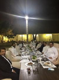 مأدبة عشاء تجمع الزعماء العرب