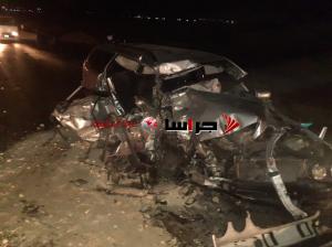 وفاتان و 5 إصابات بحادث مروع على طريق الموت (صور)