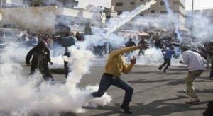 إصابات بمواجهات مع الاحتلال في بيت أمر شمال الخليل