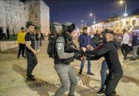 53 اصابة بتجدد المواجهات مع الاحتلال في القدس