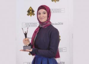 أردنية تحصد جائزة أفضل موظفة في العالم