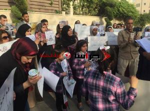 وقفة أمام الصليب الأحمر تضامنًا مع الأسرى المضربين (صور)