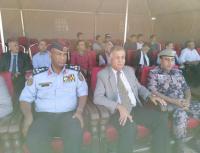 القيام يرعى التمرين الوهمي للدفاع المدني في مادبا