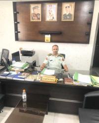 تهنئة بالترفيع للقاضي العسكري الدكتور سليمان الزوايده
