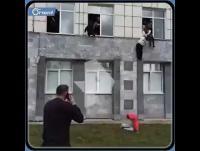 قتلى وجرحى بهجوم مسلح بجامعة بيرم الروسية (فيديو)