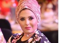 أول ظهور إعلامي لصابرين بعد خلعها الحجاب (شاهد)