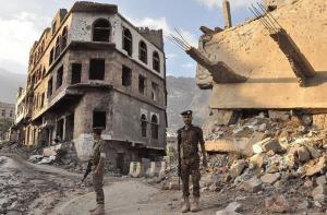 96 قتيلا في مواجهات قرب مأرب