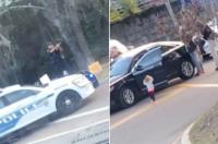 طفلة تُفاجئ الشرطة بعد جريمة ارتكبها والداها
