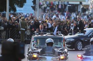 استقبال مهيب للملك في المغرب (صور)