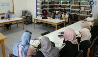 دورة لغوية في عمادة جامعة الزرقاء