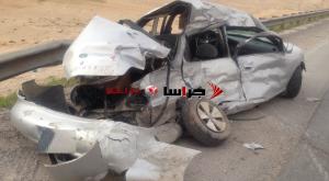وفاة واصابة طفل بحادث مروع على طريق جامعة الزرقاء الخاصة (صور)