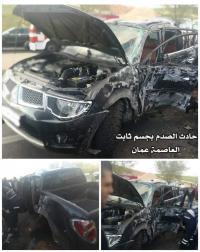 وفاة واصابة بليغة اثر حادثين متفرقين في اربد و عمان (صور)