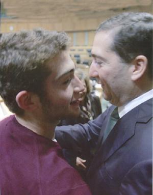 خطوبة نجل سمير الرفاعي على كريمة زيد الفايز