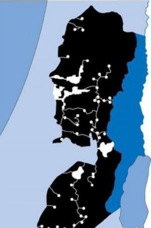 خريطة صفقة القرن على الأراضي الفلسطينية